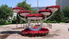 玻璃钢花盆——城市绿化贡献者